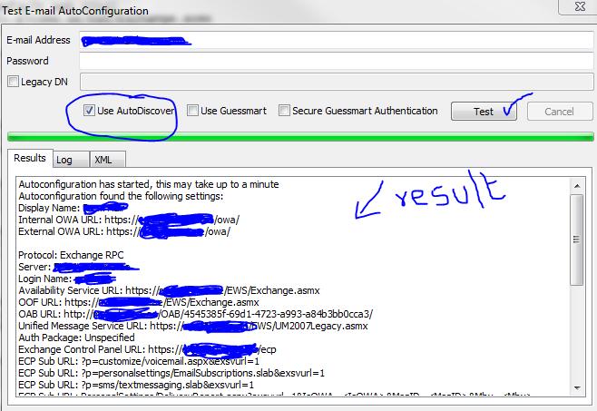 Configure EWS, Autodiscover, OWA, OAB, ECP on Exchange Server 2010 (2/3)