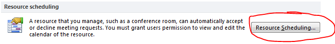 Automatically accepting meeting request from Microsoft Outlook 2010 (3/4)